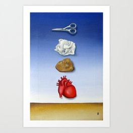 Games People Play Art Print