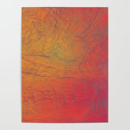 Auric Waves Poster