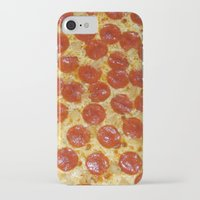 pizza iPhone & iPod Cases featuring Pizza by Callmepains