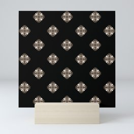 Simulated illuminated diamond pattern Mini Art Print