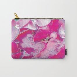 Pink Rose Pop Art Carry-All Pouch