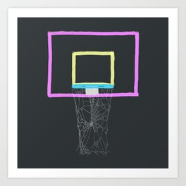 WHO'S GONNA PLAY? Art Print