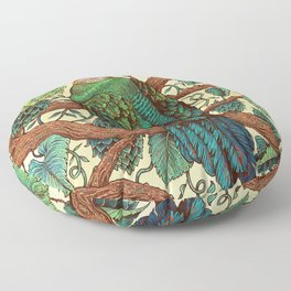 Tipsy Turaco Floor Pillow