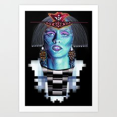 ::Goddess of Orient:: Art Print