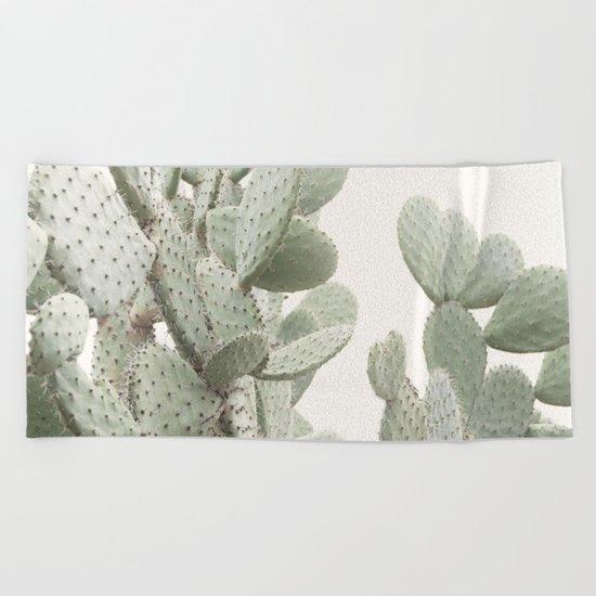 Cactus 4 Beach Towel
