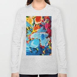 Painters' Splatter Long Sleeve T-shirt