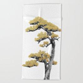 Bonsai Tree IV Beach Towel