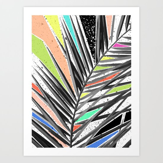 Tropical madness Art Print