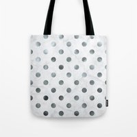 holographic Tote Bags featuring marbled holographic confetti  by spankrock susanna
