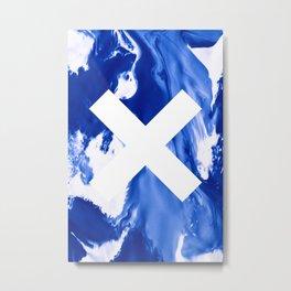 BLUEX Metal Print