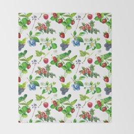 Berries Throw Blanket