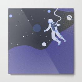 Space jump Metal Print