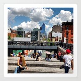 New York: High Line Art Print