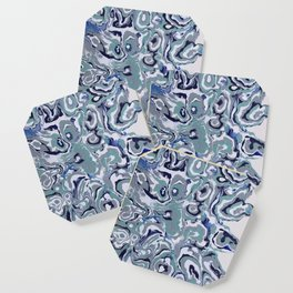Oysters abstract Coaster