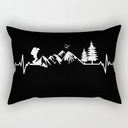 My Heart Beats For Nature Rectangular Pillow