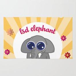 LSD Elephant Rug