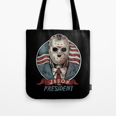 Jason For President Tote Bag