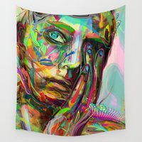 archan nair Wall Tapestries featuring Drift by Archan Nair