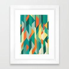 Broken Ocean Framed Art Print