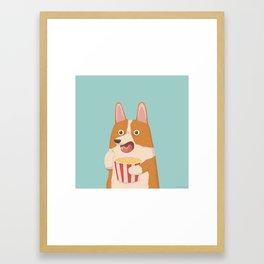 Mindless Snacking Framed Art Print