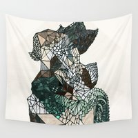 nordic Wall Tapestries featuring Nordic collage by a.r.r.p.
