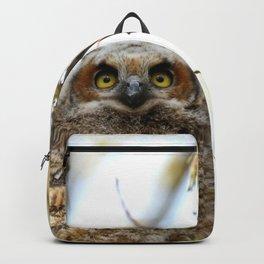The light in her little girl's eyes Backpack