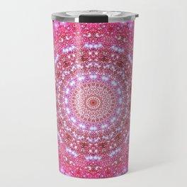 Star Cluster Mandala Travel Mug