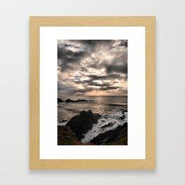 Hartland Quay  Framed Art Print