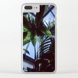 Indoor Paradise Clear iPhone Case