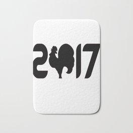 2017 T-Shirt Bath Mat