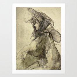 Hommage à Lovis Corinth V Art Print