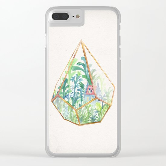 Terrarium II Clear iPhone Case