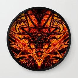 Devilish Shroud Wall Clock