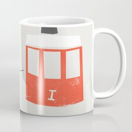 Barcelona Cable Cars Coffee Mug