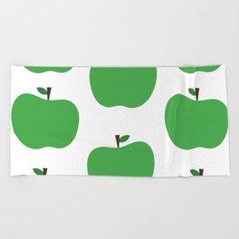 Green Apples Beach Towel