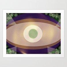 Big Eye Art Print