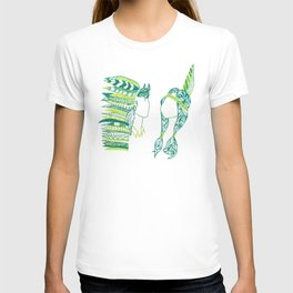 Peter Pan and Tiger Lilly T-shirt