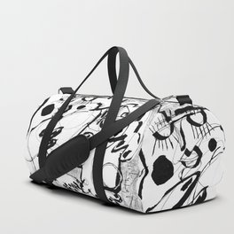 Female Nude #2 - b&w Duffle Bag