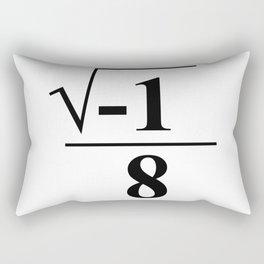 I Over Ate Math Pun Rectangular Pillow
