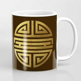 Four blessings Gold Coffee Mug