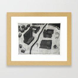 Etching & Aquatint Framed Art Print