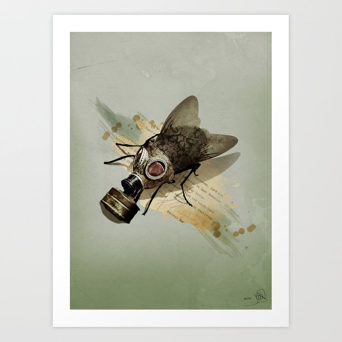 Pretty Dirty Little Thing Art Print