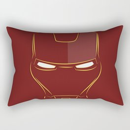 iron man face Rectangular Pillow