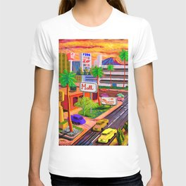 Camelback Road Sunset Phoenix Arizona T-shirt