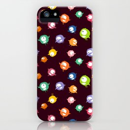 Tiny hyperactive creatures iPhone Case