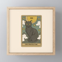 The Protector Framed Mini Art Print