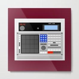 MPC 60II Drum Machine/Sampler Metal Print