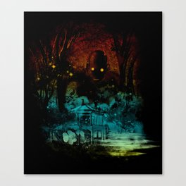 the last story Canvas Print