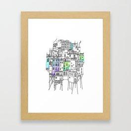 The Floating City of Esmeraldina Framed Art Print