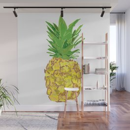 Statement Pineapple Wall Mural